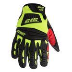 Thumbnail - Impact Cut Resistant 5 Super Hi Viz Work Gloves - 21