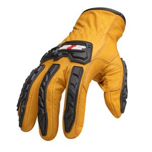Cut Resistant 5 Impact Leather Driver Gloves