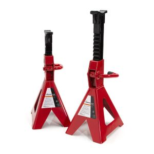Professional 4-Ton Capacity Jack Stand Set