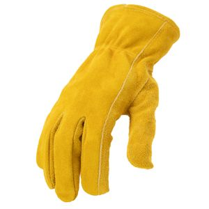 Leather Driver Work Gloves