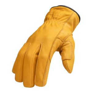 Leather Driver Cut 5 Gloves