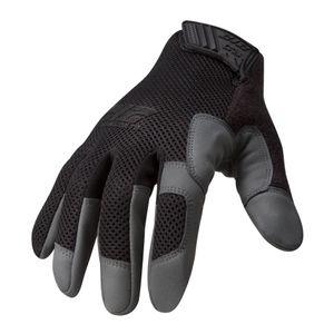 High Abrasion Air Mesh Cut 3 Touch Screen Gloves in Black