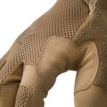 Thumbnail - High Abrasion Air Mesh Cut Resistant 3 Touch Screen Gloves in Coyote - 31