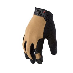 GSA Compliant Silicone Grip Touch Screen Mechanic Gloves in Coyote