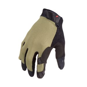Silicone Grip Touch Screen Gloves in Green