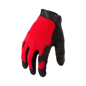 Touch Screen Mechanic Gloves in Red