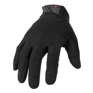 Mechanic Touch Screen Gloves, Black