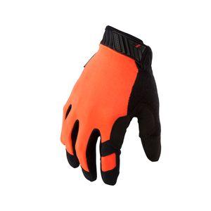 Touch Screen Mechanic Gloves in Hi Viz Orange