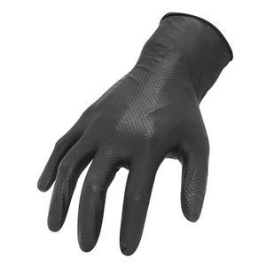 AX360 7mil Disposable Nitrile Textured Gloves Latex Free