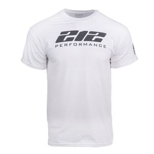 212 Performance Logo Tee in White