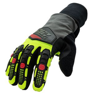 Waterproof Fleece Lined Impact A3 Cut Tundra Winter Work Gloves