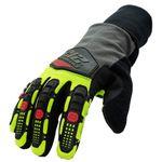 Thumbnail - Waterproof Fleece Lined Impact A3 Cut Tundra Winter Work Gloves - 01