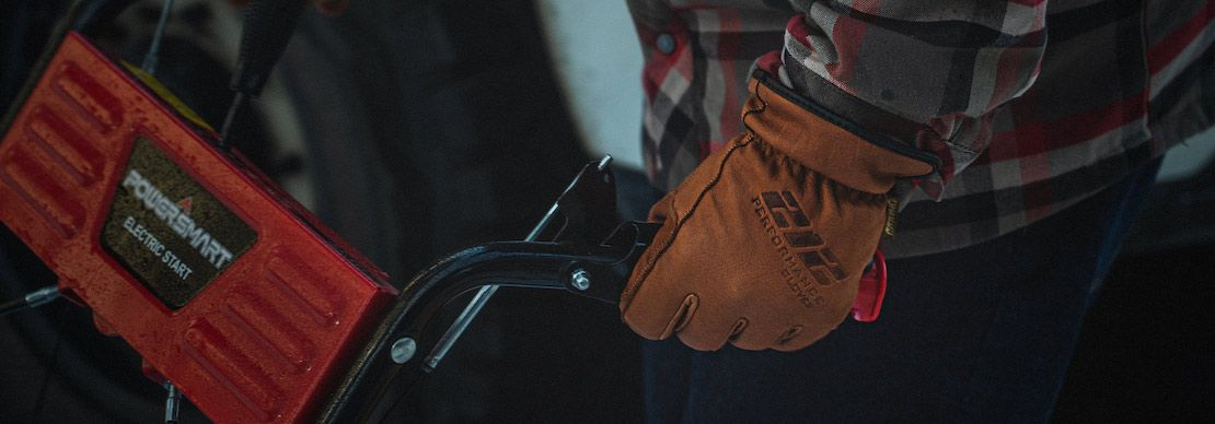 Stay Warm in the Cold with the Durable and Rugged Buffalo Leather Fleece Lined Waterproof Cold Weather Work Glove