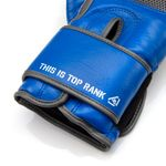Thumbnail - Champion Grade A Leather Training Boxing Glove in Gray and Blue - 61