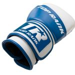 Thumbnail - Champion Grade A Leather Training Boxing Glove in White and Blue - 31