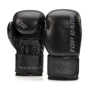 Contender Training Boxing Glove in Black with Black Trim