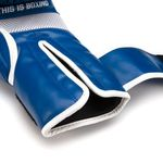 Thumbnail - Contender Training Boxing Glove in Blue with White Trim - 51