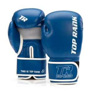 Contender Training Boxing Glove in Blue with White Trim