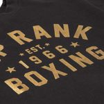 Thumbnail - Top Rank Boxing Est 1966 Crew Neck Sweat Shirt Gold on Black - 11