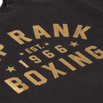 Thumbnail - Top Rank Boxing Est 1966 Crew Neck Sweatshirt in Gold on Black - 11