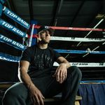 Thumbnail - Top Rank Boxing Est 1966 in Black on Black Tee - 31