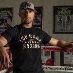 Thumbnail - Top Rank Boxing Est 1966 Gold on Black Tee - 21