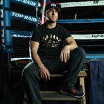 Thumbnail - Top Rank Boxing Est 1966 Gold on Black Tee - 31