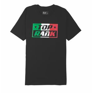 Top Rank Mexican Boxing Pride Tee in Black