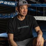 Thumbnail - Top Rank Boxing Gray on Black Tee - 21