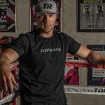 Thumbnail - Top Rank Boxing Gray on Black Tee - 31